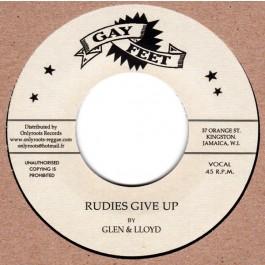 Lloyd & Glen / Bobby Aitken & The Carib Beats - Rudies Give Up / Orange Street Special
