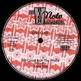 Alton Ellis / The Soul Syndicate - If I Could Rule The World / Lava