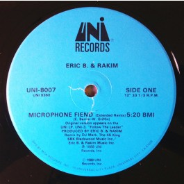 Eric B. & Rakim - Microphone Fiend
