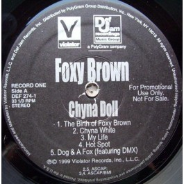 Foxy Brown - Chyna Doll