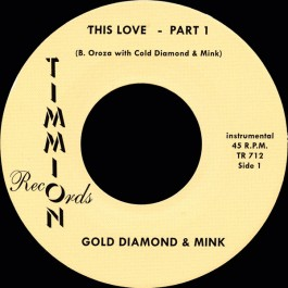 Cold Diamond & Mink - This Love