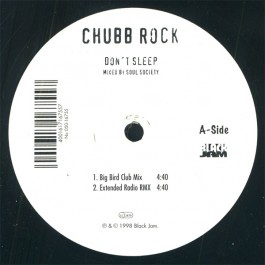 Chubb Rock - Don't Sleep