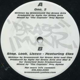 Brassmunk - One, 2  / Stop, Look, Listen