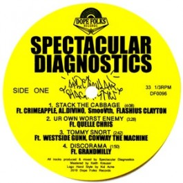 "Spectacular Diagnostics - ""S/T"" EP"