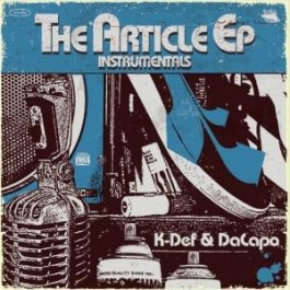 K-Def - The Article EP Instrumentals