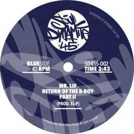 Mr. Lif - Return of The B-Boy (Azure Blue Vinyl Edition)