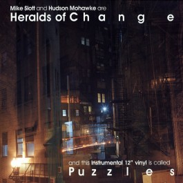 Heralds Of Change (Mike Slott & Hudson Mohawke) - Puzzles EP