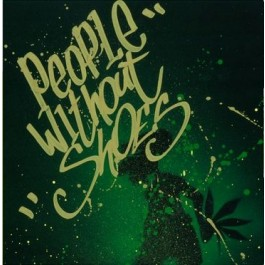 People Without Shoes - Thoughts Of An Optimist (Black Stencil Cover)