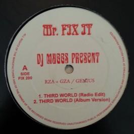 DJ Muggs Present RZA + GZA / Genius - Third World