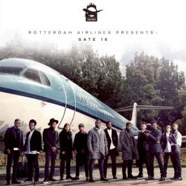 V.A. - Rotterdam Airlines presents Gate 16 White Vinyl Edition