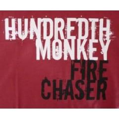 Hundredth Monkey - Fire Chaser T-Shirt (RED)