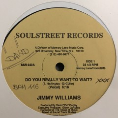 Jimmy Williams - Do You Really Want To Wait?