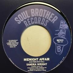 Sandra Wright - Wounded Woman / Midnight Affair