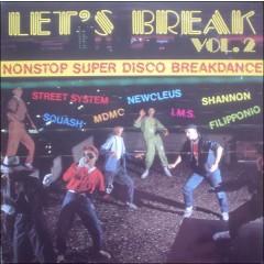 Various - Let's Break Vol. 2 (Nonstop Super Disco Breakdance)