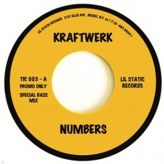 Kraftwerk - Numbers (Special Bass Mix) / Computer World..2 (Special Bass Mix)