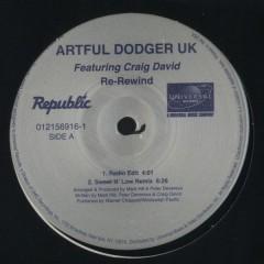 Artful Dodger - Re-Rewind