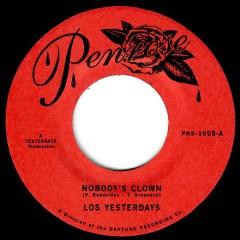 Los Yesterdays - Nobody's Clown