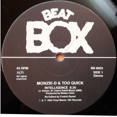 Monzie D And Too Quick - Intelligence (Remix)