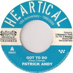Patrick Andy / Original Uman - Got To Do / Parcours Santé