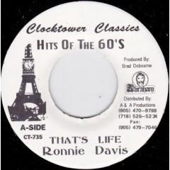 Ronnie Davis - That's Life