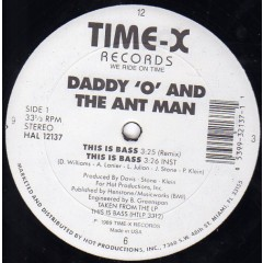Daddy 'O' & The Ant Man - This Is Bass