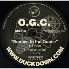 O.G.C. - Bounce To The Ounce