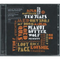 Various - Peanut Butter Wolf Presents Stones Throw Ten Years