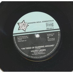 Young Ladies - I'm Tired Of Running Around / (I'm In) The Prime Of Love
