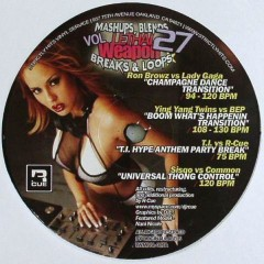 Various - Lethal Weapon Mashups, Blends, Breaks & Loops Vol. 27