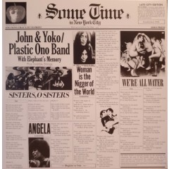 John Lennon & Yoko Ono / Plastic Ono Band With Elephant's Memory And Invisible Strings - Some Time In New York City