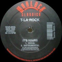 T La Rock & Jazzy Jay / Nairobi And The Awesome Foursome - It's Yours / Funky Soul Makossa