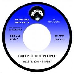 Beastie Boys vs MFSB - Check It Out People