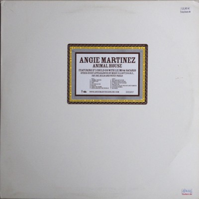 Angie Martinez - Animal House (Clean & Dirty LP)