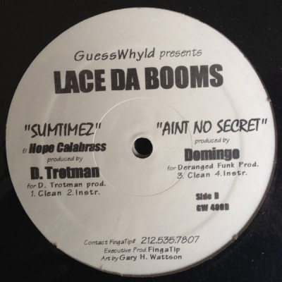 Lace da Booms - Countless Thoughts