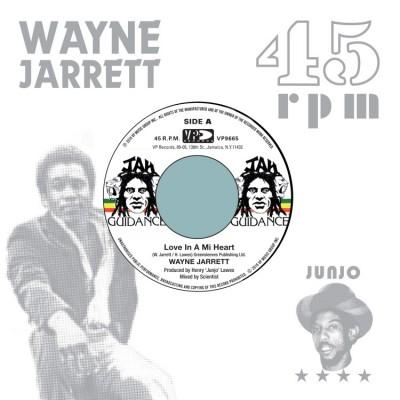 Wayne Jarrett / Roots Radics - Love In A Mi Heart / Blood On His Lips