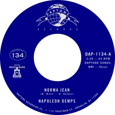 Napoleon Demps - Norma Jean / Norma Jean (Instrumental)