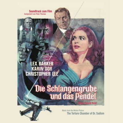 Peter Thomas - Die Schlangengrube und das Pendel (Ltd. Red Vinyl)