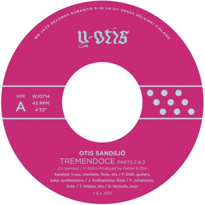 Otis Sandsjö - Tremendoce Parts 2 & 3 / Skerry