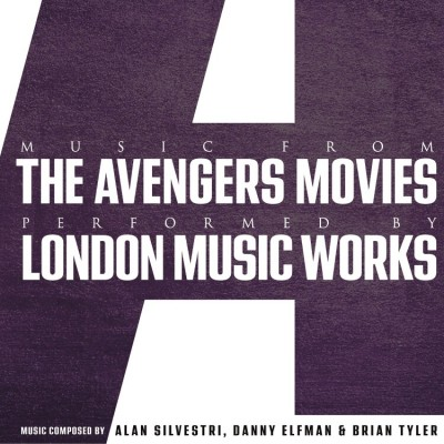 London Music Works - Music From The Avengers Movies (Purple Repress)