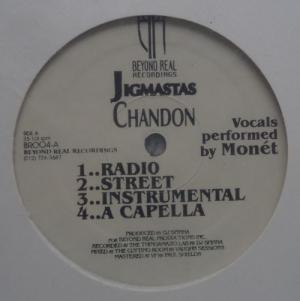 Jigmastas - Chandon / Iz You Dee