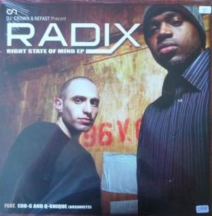 RADIx - The Right State Of Mind EP