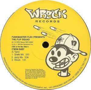 Funkmaster Flex - C'mon Baby / Butterfly Style
