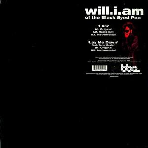 Will I Am - I Am / Lay Me Down