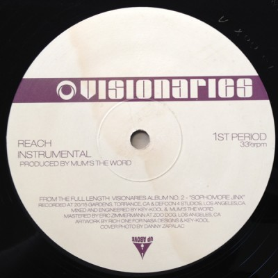 Visionaries - Reach / DJ's MC's