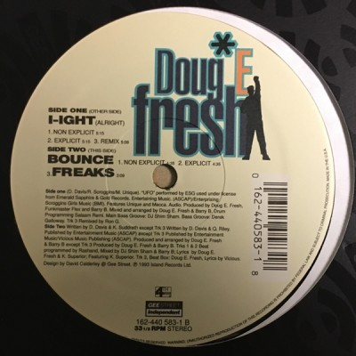 Doug E. Fresh - I-Ight (Alright)