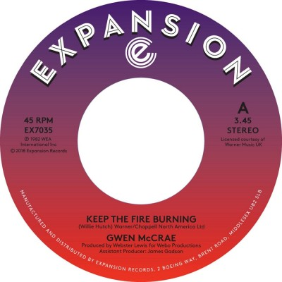 Gwen McCrae - Keep The Fire Burning/Funky Sensation