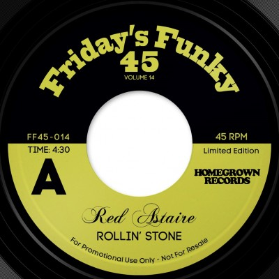 Red Astaire - Rollin' Stone / Love To Angie