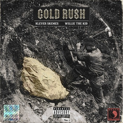Klever Skemes & Willie The Kid - Gold  Rush (Colored Vinyl Version)