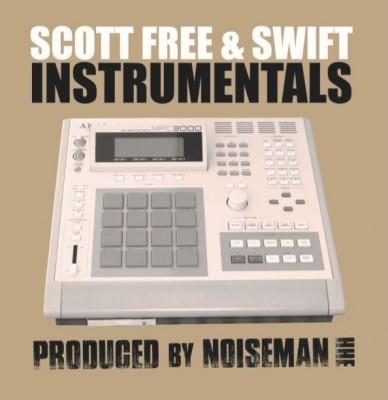 Scott Free & Swift - Instrumentals LP (Black Vinyl)