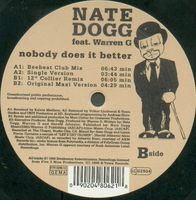 Nate Dogg - Nobody Does It Better